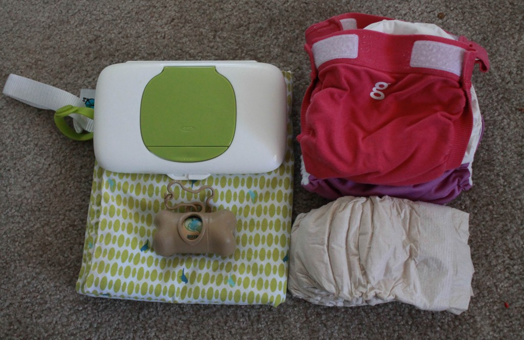 Toddler Travel OXO Tot Diaper (1 of 1)