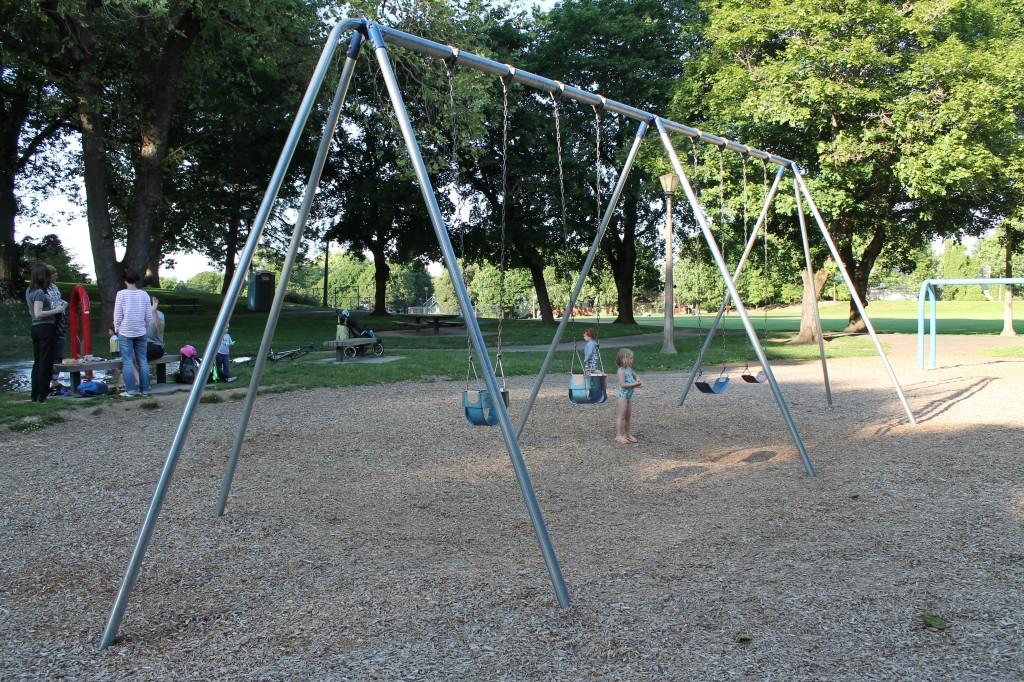 Irving City Park- Swings