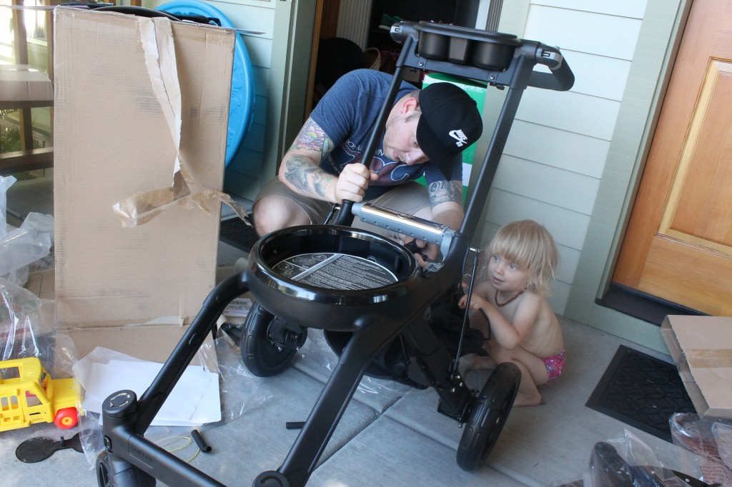 Orbit Baby Stroller- Put Together