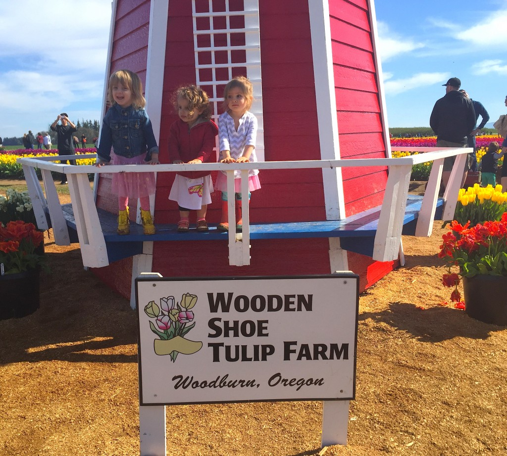 March 2015 - Tulip Fest - girls