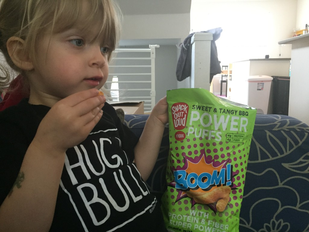 Snack Date- Snack Out Loud Power Puffs