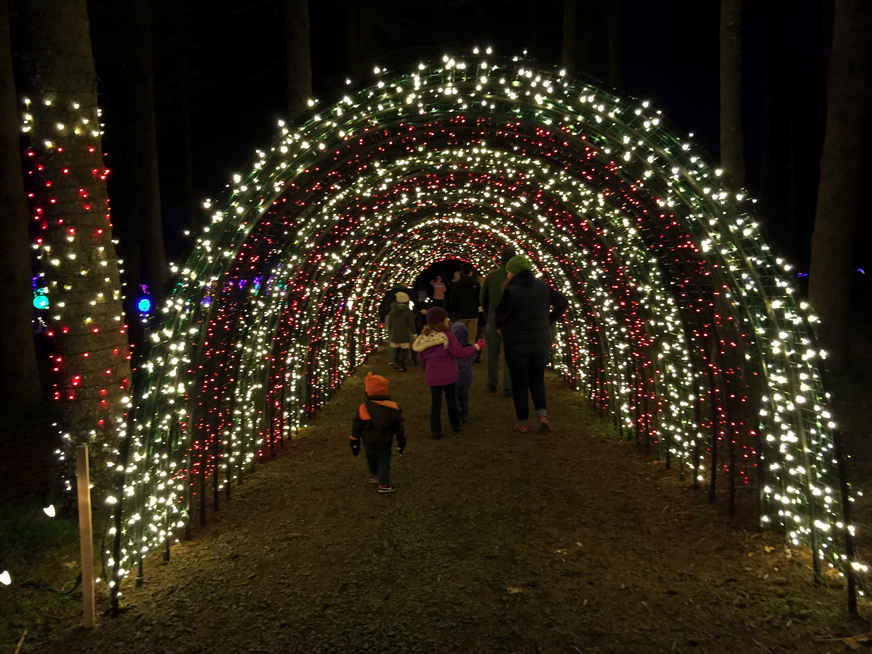 Travel Oregon] Christmas In The Garden at Oregon Garden Resort