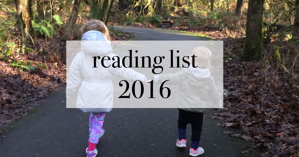 reading list 2016 parenting