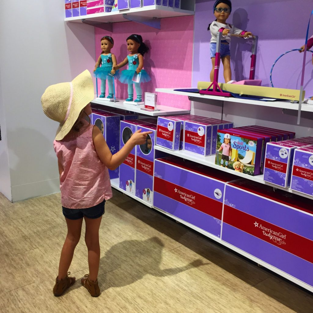 American Girl Pops Up In Pdx
